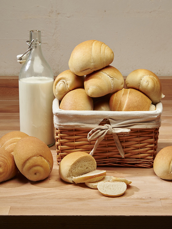 MILK LOAF & SOFT MILK ROLLS